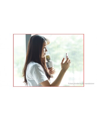 Authentic hoco BK3 Bluetooth V4.2 Condenser Microphone for Karaoke