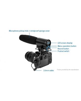 BOYA BY-DMR7 On-camera Condenser Microphone Audio Studio Recorder