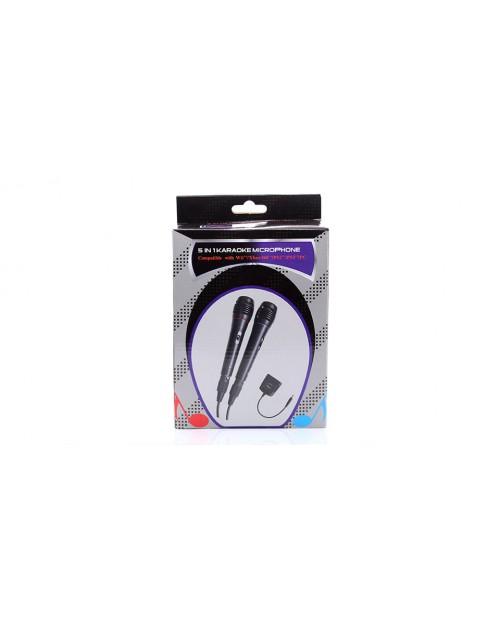 Wired USB Karaoke Microphones (2-Pack)