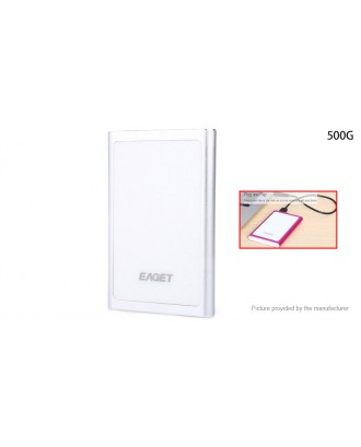 "Authentic Eaget G90 USB 3.0 SATA 2.5"" External HDD Hard Drive (500GB)"