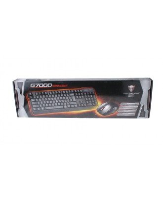 Authentic Motospeed G7000 2.4GHz Wireless Keyboard + Mouse Set