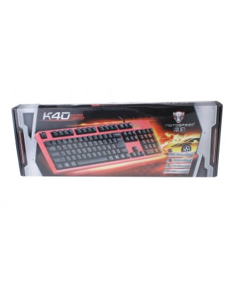 Authentic Motospeed K40 Wired Keyboard