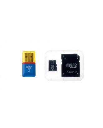 16GB microSDHC Memory Card w/ SD Card Adapter / Card Reader