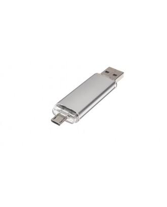 8GB USB 2.0 + Micro-USB OTG USB Flash Drive
