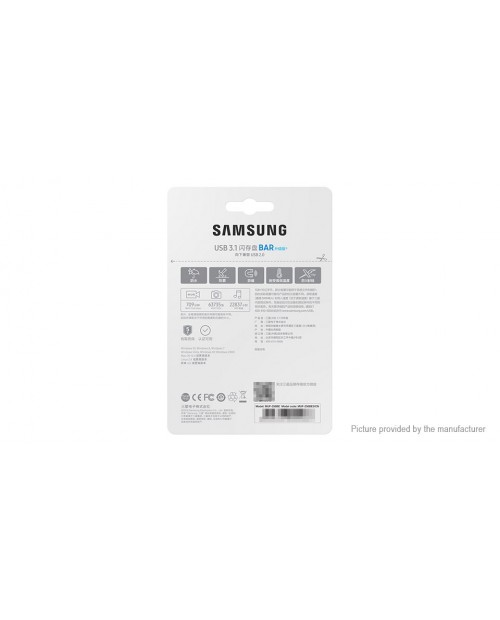 Authentic Samsung BAR Plus USB 3.1 Flash Drive (64GB)