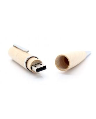 Wooden Ball Pen USB Flash/Jump Drive (32GB)